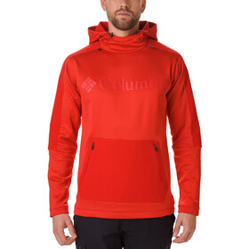 Columbia Maxtrail Midlayer Top Heren, mountain red